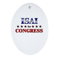 ISAI for congress Oval Ornament