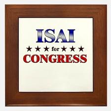 ISAI for congress Framed Tile