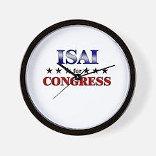 ISAI for congress Wall Clock