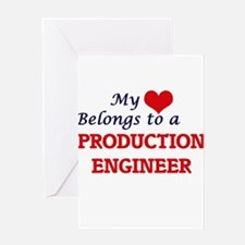 My heart belongs to a Production En Greeting Cards