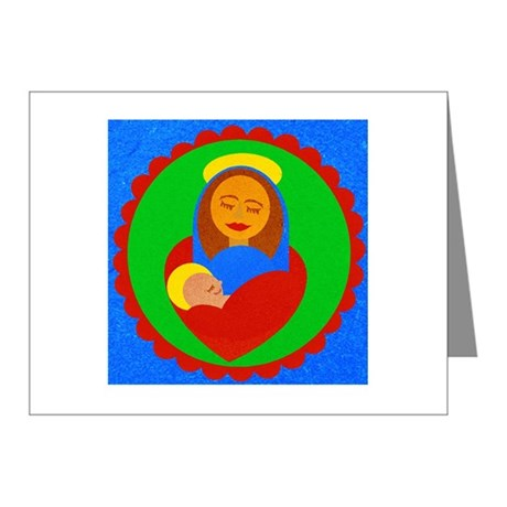 Madonna and Child Note Cards (Pk of 10)