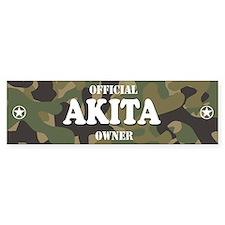 AKITA Bumper Bumper Sticker