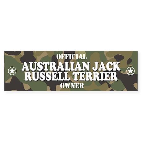 AUSTRALIAN JACK RUSSELL TERRIER Bumper Sticker