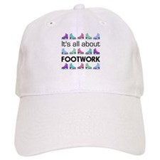 Footwork Black Letters Baseball Cap