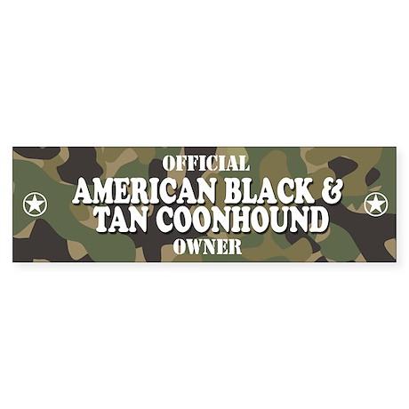 AMERICAN BLACK AND TAN COONHOUND Bumper Sticker