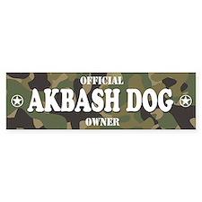 AKBASH DOG Bumper Bumper Bumper Sticker