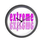 Exciting Extreme Experience Wall Clock