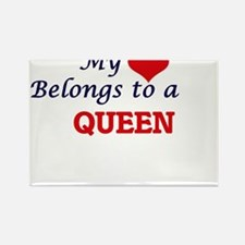 My heart belongs to a Queen Magnets