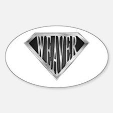 Superweaver(metal) Oval Decal