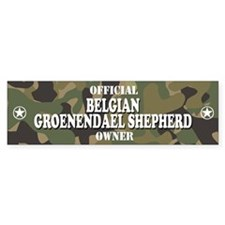 BELGIAN GROENENDAEL SHEPHERD Bumper Bumper Sticker