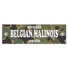 BELGIAN MALINOIS Bumper Bumper Sticker