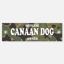 CANAAN DOG Bumper Bumper Bumper Sticker