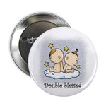 "Double Blessed 2.25"" Button (10 pack)"