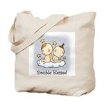 Double Blessed Tote Bag