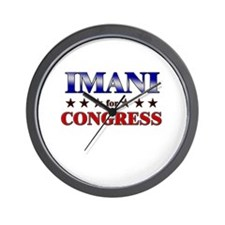 IMANI for congress Wall Clock