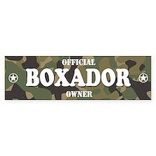 BOXADOR Bumper Bumper Sticker