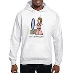 Funny Maternity Hooded Sweatshirt