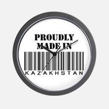 Proudly made in Kazakhstan Wall Clock