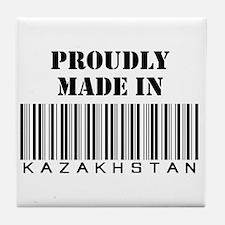 Proudly made in Kazakhstan Tile Coaster
