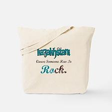 Kazakhstan Rocks Tote Bag