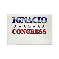 IGNACIO for congress Rectangle Magnet