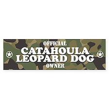 CATAHOULA LEOPARD DOG Bumper Car Sticker