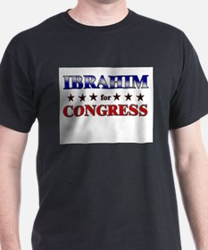 IBRAHIM for congress T-Shirt