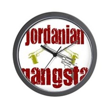 Jordanian gangsta Wall Clock