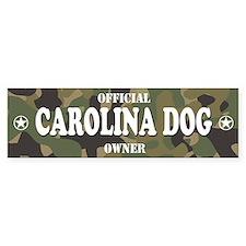 CAROLINA DOG Bumper Bumper Sticker