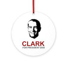 Wesley Clark Keepsake (Round)