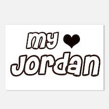 my heart Jordan Postcards (Package of 8)