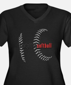 Fastpitch Softball Plus Size T-Shirt