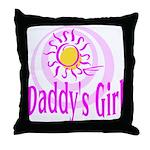Daddy's Girl Throw Pillow