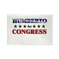 HUMBERTO for congress Rectangle Magnet