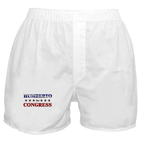 HUMBERTO for congress Boxer Shorts