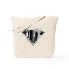 SuperSculptor(metal) Tote Bag