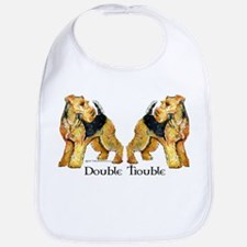 Airedale Terrier Trouble Bib