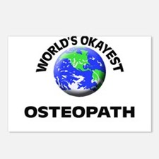 World's Okayest Osteopath Postcards (Package of 8)