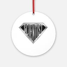 SuperScientist(metal) Ornament (Round)