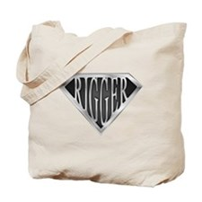 SuperRigger(metal) Tote Bag