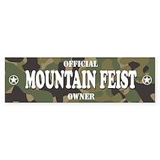 MOUNTAIN FEIST Bumper Bumper Sticker