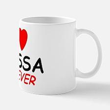 I Love Elyssa Forever - Small Small Mug