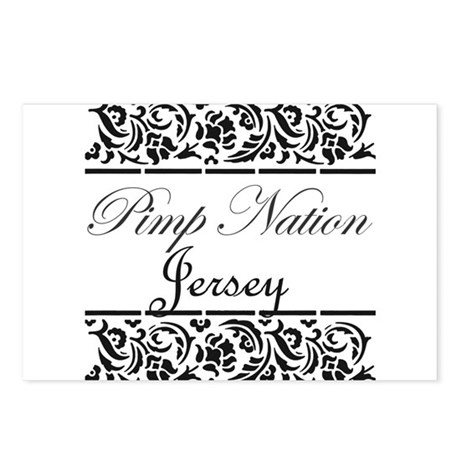 Pimp nation Jersey Postcards (Package of 8)