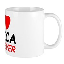 I Love Erica Forever - Small Mugs