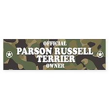 PARSON RUSSELL TERRIER Bumper Bumper Sticker