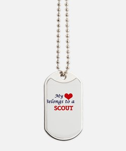 My heart belongs to a Scout Dog Tags