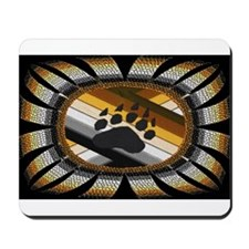 BEAR PAW PRIDE DESIGN/BLACK Mousepad