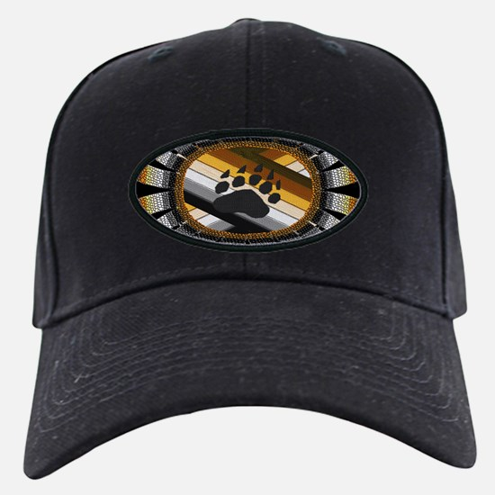 BEAR PAW PRIDE DESIGN/BLACK Baseball Hat