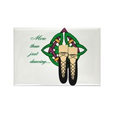 More Than Just Dancing Rectangle Magnet (10 pack)