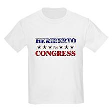 HERIBERTO for congress T-Shirt